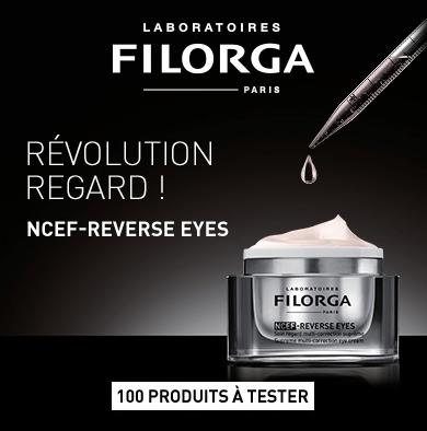Test contour des yeux NCEF-Reverse Eyes des Laboratoires Filorga ( beauté-test )
