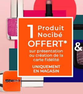 Read more about the article Un produit gratuit chez Nocibé  sur simple visite