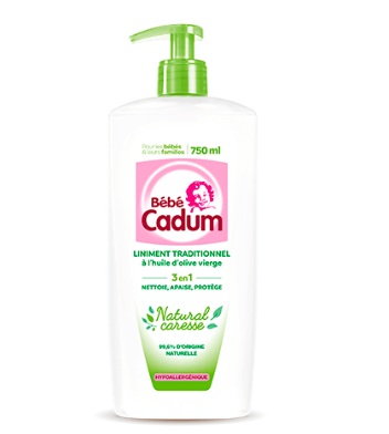 You are currently viewing Test Liniment Traditionnel Natural Caresse de Cadum