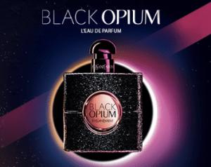 Echantillon Black Opium de YSL