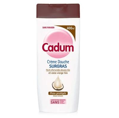 Test crème douche surgras à l'huile de Coco Bio de Cadum