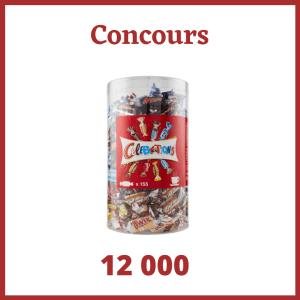 Concours :  Un assortiment de chocolats Célébrations de 1,435kg à gagner