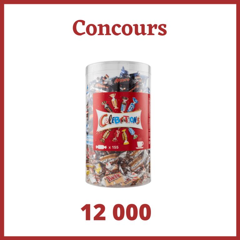 Read more about the article Concours :  Un assortiment de chocolats Célébrations de 1,435kg à gagner