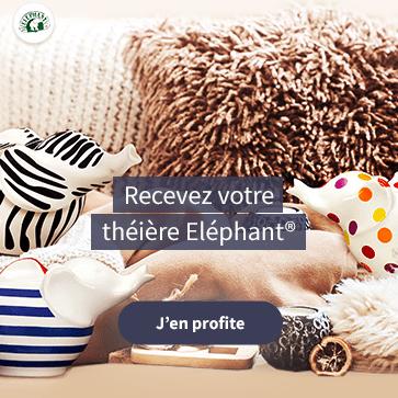 Offre Elephant : 4 produits Elephant achetés, une théière offerte !