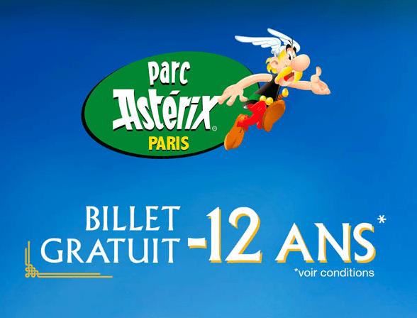 Fnac : 1 Billet Adulte acheté = 1 Billet enfant gratuit au parc Asterix