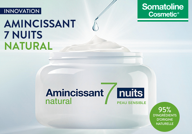 Test soin Amincissant 7 Nuits Ultra Intensif Natural de Somatoline Cosmetic ( Sampleo )