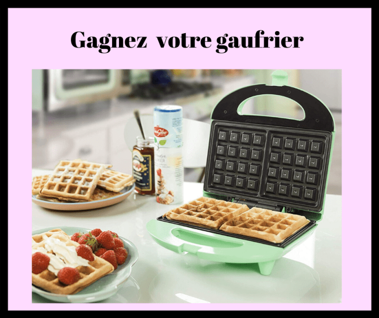Read more about the article Concours gaufrier à gagner