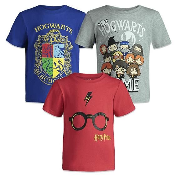 Lot de 3 tee-shirt Harry Potter