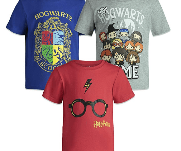 Lot de 3 tee-shirt Harry Potter