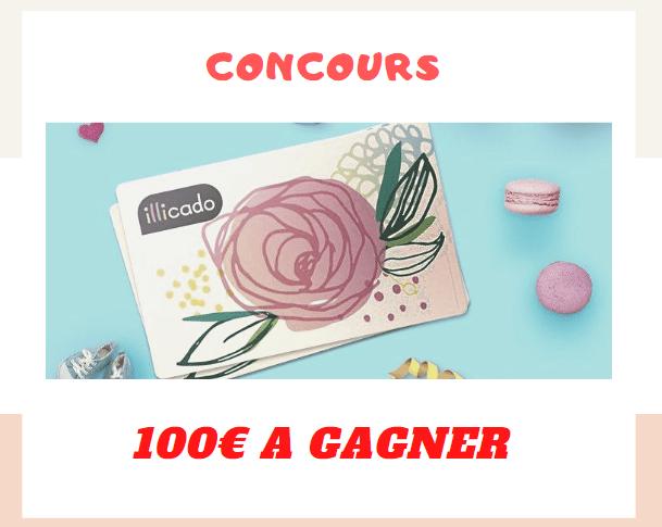 Concours :  une carte cadeau Illicado d'une valeur de 100€