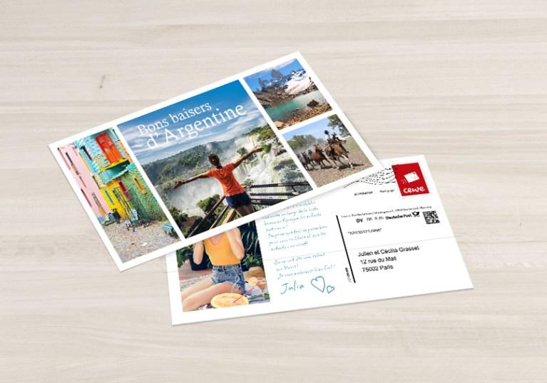 Read more about the article Carte postale à envoyer gratuitement avec CEWE