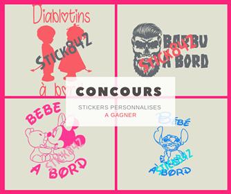 Concours : des stickers à gagner