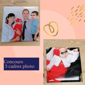 Read more about the article Concours : 3 cadres photo à gagner
