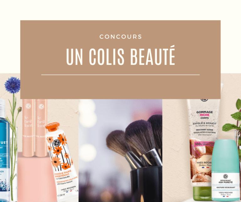 Read more about the article Concours : un colis Yves Rocher à gagner
