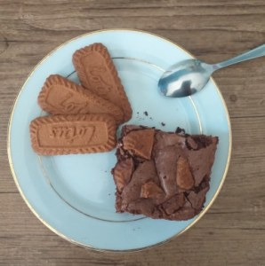 Recette brownies au spéculos