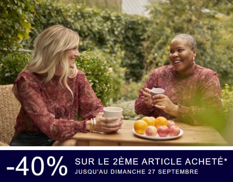 Read more about the article Profitez de -40% sur le 2ème article en avant-première chez Kiabi !