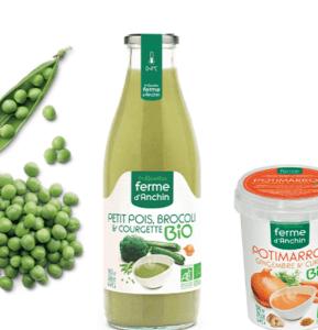 Test : soupes La Ferme D'Anchin