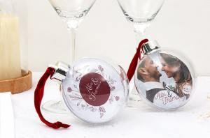 Créer votre boule de Noël personnalisée