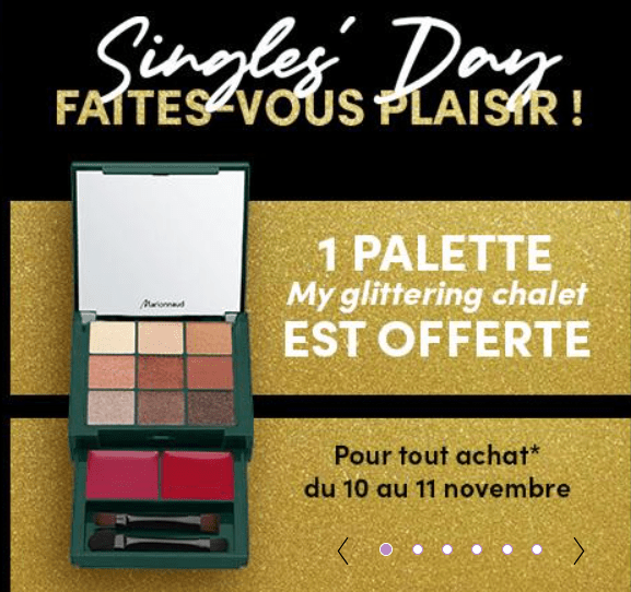 Read more about the article Une palette offerte chez Marrionnaud !!!!
