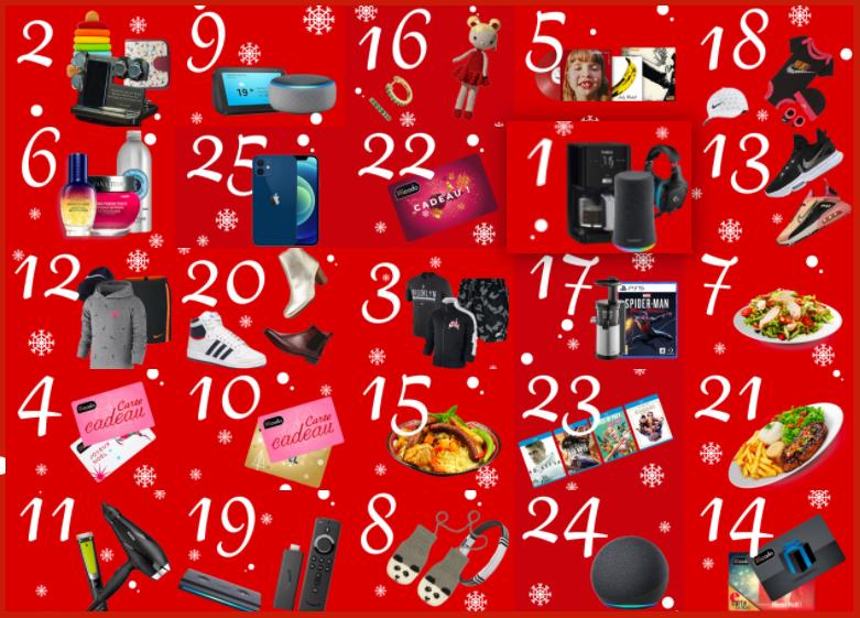 Read more about the article Calendrier de l'Avent  : Igraal  offre des cadeaux chaque jour
