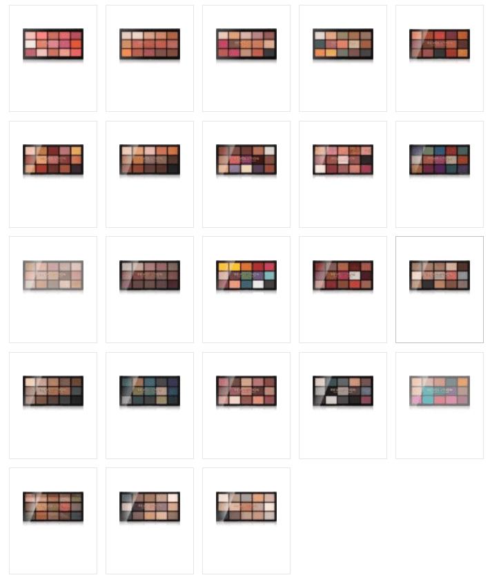 Read more about the article Makeup Revolution Reloaded à 6.50€ + livraison gratuite