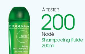 Tentez de tester le Nodé Shampooing fluide de Bioderma