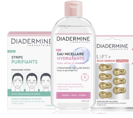 Read more about the article Bon plan Diadermine : 7 produits Full Size à 10.40€ livraison incluse