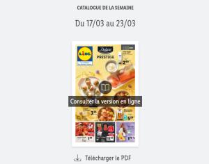 Read more about the article Catalogue Lidl de la semaine du 17/03 au 23/03