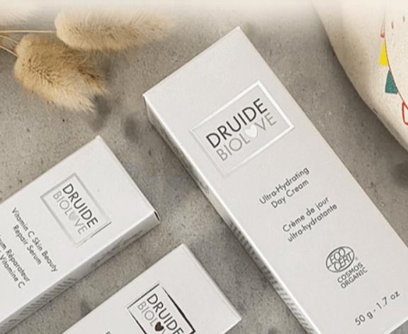 Read more about the article Concours : 40 bons d'achat de 50 € à valoir sur les produits dermo-cosmétiques bio & écologiques des Laboratoires DRUIDE à gagner