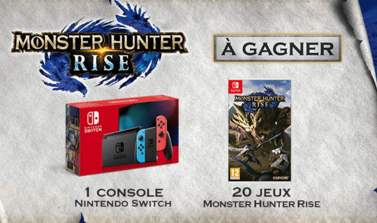 Read more about the article Concours :  une console Nintendo Switch à gagner