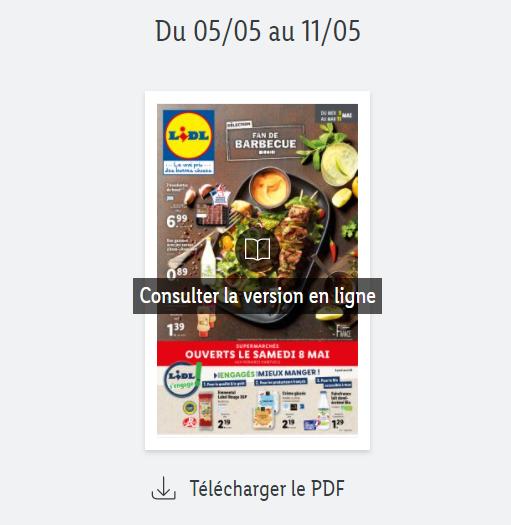 Read more about the article Catalogue Lidl  de la semaine du 05 au 11 mai 2021