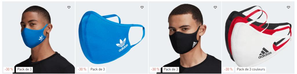 adidas masque