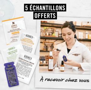 5 échantillons  Kiehl's