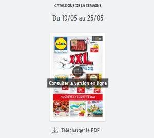 Read more about the article Catalogue Lidl  de la semaine du 19 au 25 mai 2021
