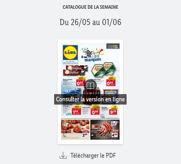 You are currently viewing Catalogue Lidl  de la semaine du 26 mai au 01 juin 2021