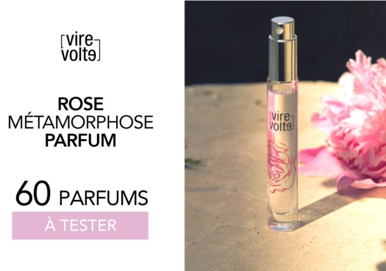 Test gratuit : Parfum Rose Métamorphose