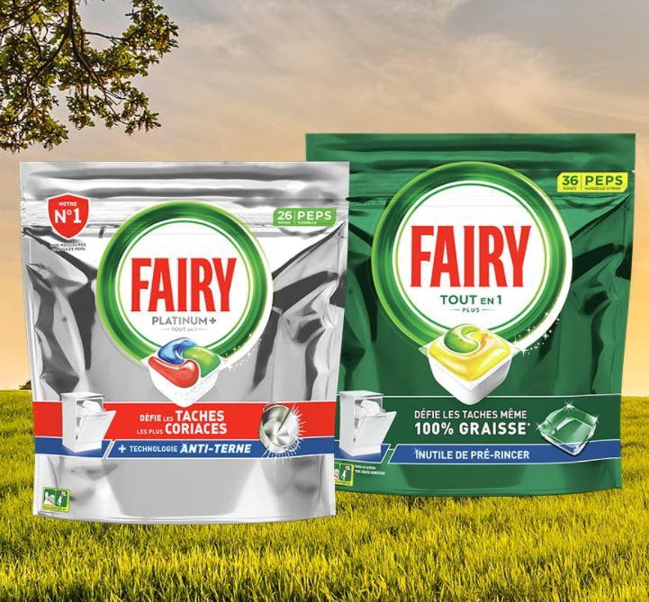 Read more about the article Echantillons gratuits de  capsules de lave-vaisselle Fairy