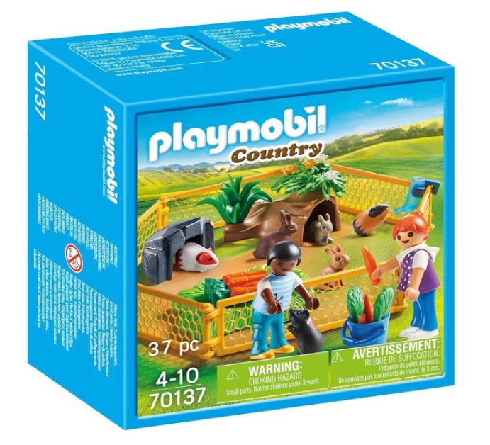 Playmobil - Enfants avec Petits Animaux