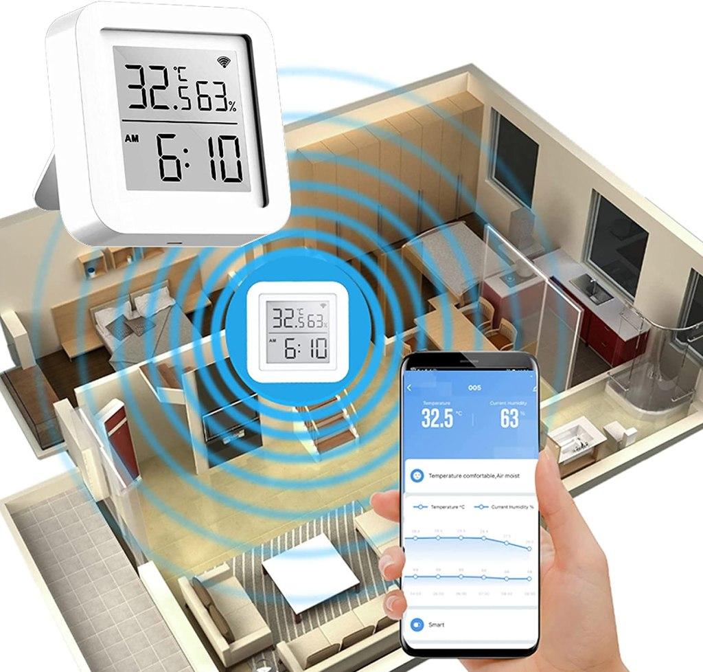 Thermomètre Intérieur WiFi