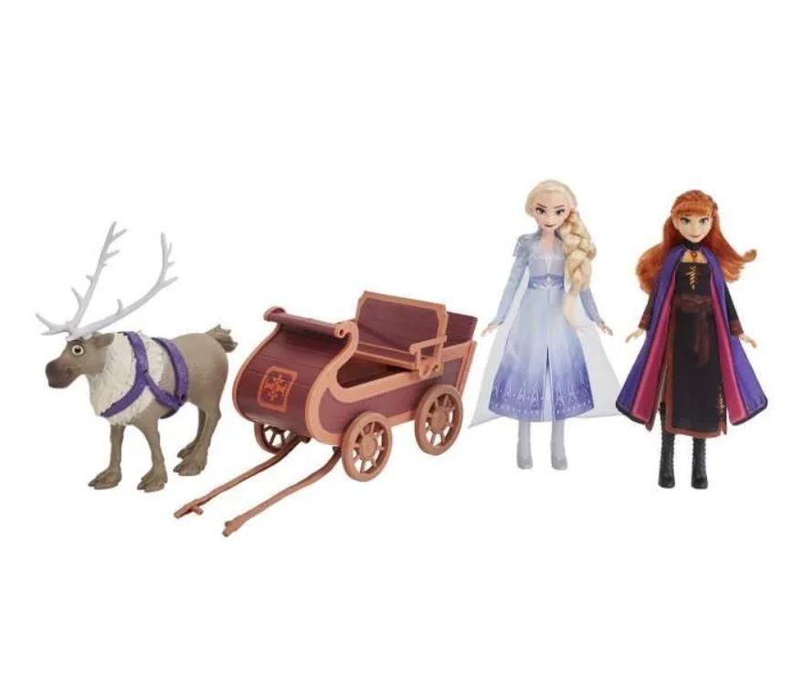 Read more about the article Bon plan sur le coffret de 3 figurines et traîneau Reine des Neiges