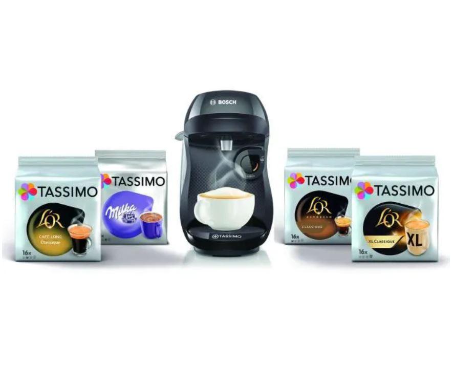 Read more about the article Bon plan sur la TASSIMO HAPPY NOIR + 4 pack de TDISCS