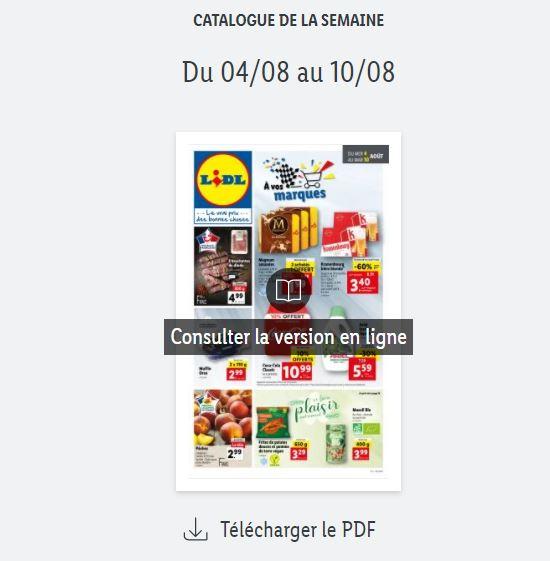 You are currently viewing Catalogue Lidl de la semaine du 04 au 10 août 2021