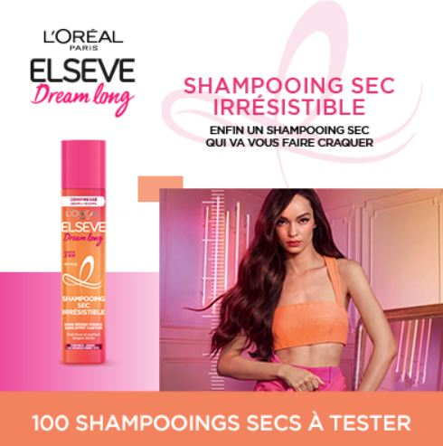 You are currently viewing Test gratuit :  le Shampooing Sec Irrésistible