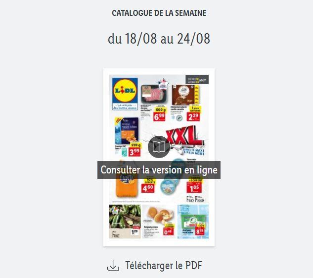 Read more about the article Catalogue Lidl de la semaine du 18 au 24 août 2021