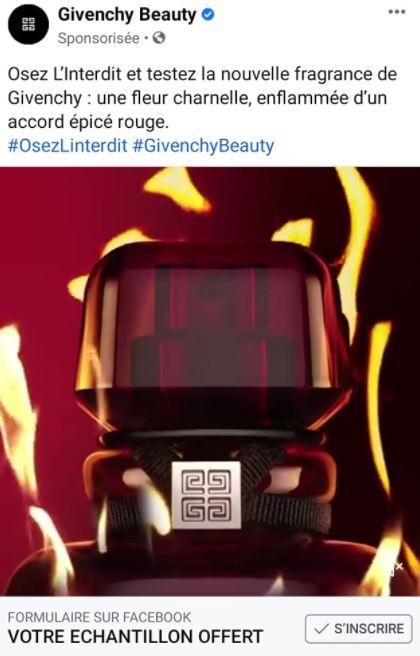 Osez l'Interdit de Givenchy