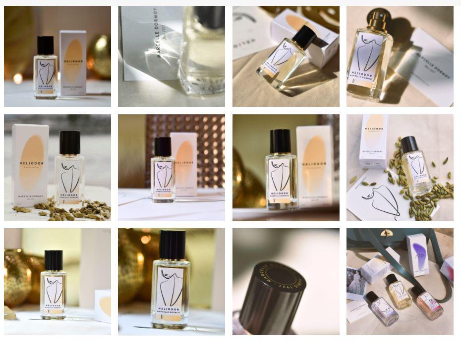 carte parfumée Marcelle Dormoy