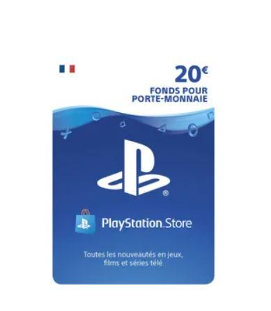 You are currently viewing Bon plan carte prépayée Playstation