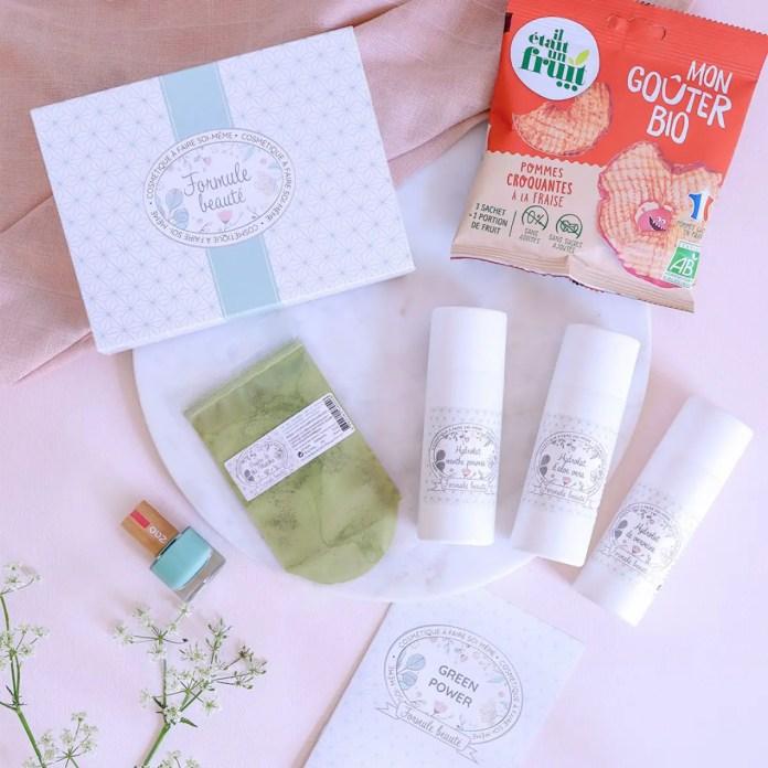 Formule beauté fête des mères box green