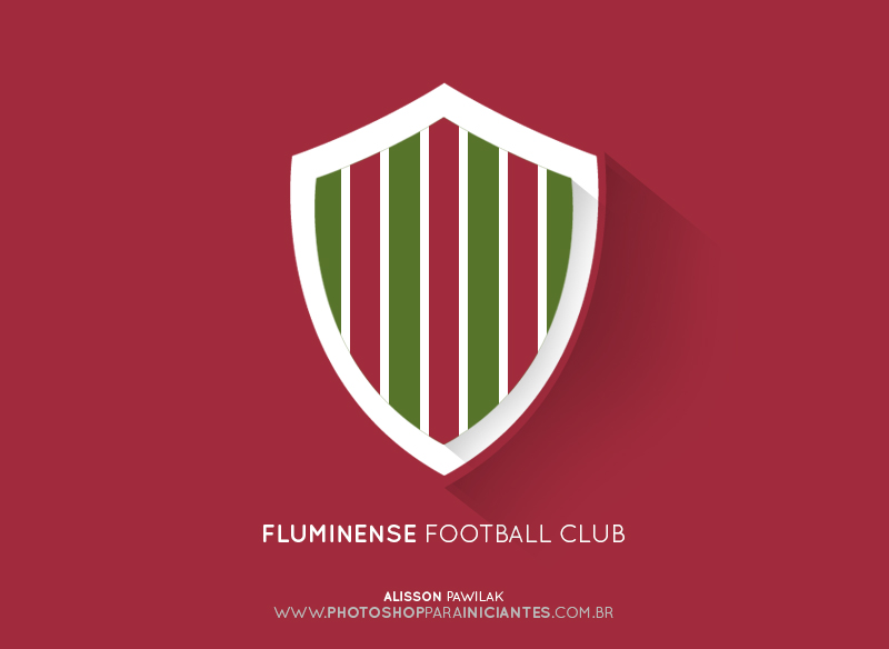 Fluminense - Escudo Minimalista
