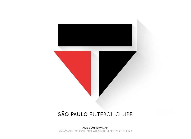 São Paulo - Escudo Minimalista
